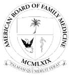 American Board of Family Medicine certification badge
